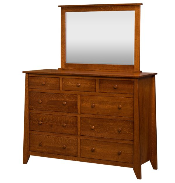 modern, mission, contemporary, dresser, solid wood, handcrafted