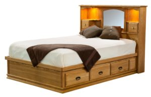Traditional Captains Bed (E&S-TCB)